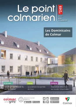 août 2016 Le Point Colmarien n° 249