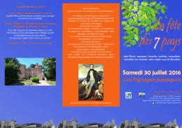 consultez le programme complet - Office de Tourisme de Cluny et du