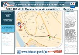 SITE JDC de la Maison de la vie associative – Béziers (format pdf