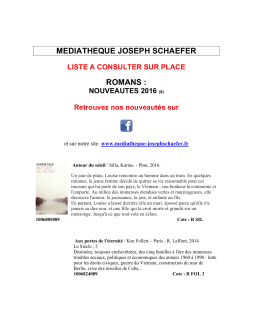 MEDIATHEQUE JOSEPH SCHAEFER ROMANS :