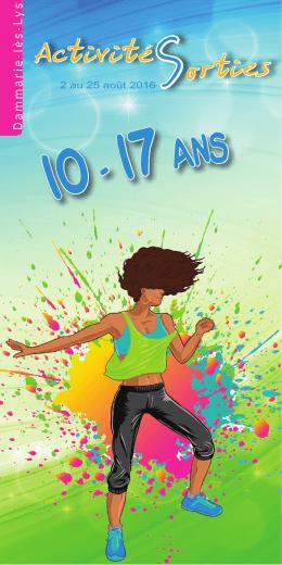10 - 17 ans - Mairie Dammarie lès Lys