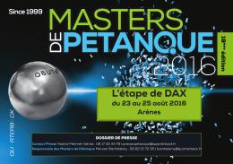 DAX - Masters de Pétanque