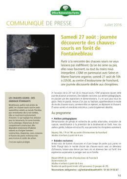 En savoir plus - Amis de la Forêt de Fontainebleau