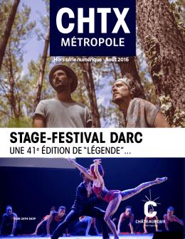 stage-festival darc - Châteauroux Métropole
