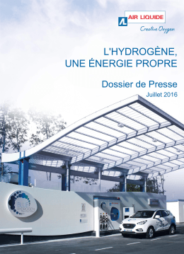 L`hydrogène, une énergie propre - Air Liquide Advanced Technologies