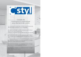 Livret montage C`STYL.indd