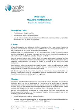 analyste financier