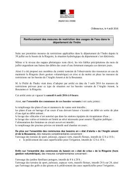 Communique de presse - format : PDF - 0,23 Mb