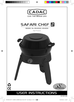 Safari Chef 2 HP - Cadac International