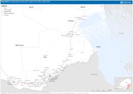 Niger/Diffa: Cartographie des Ecoles d`urgence de Diffa