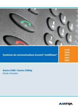 eud-0851_fr - Aastra 5380 / 5380ip