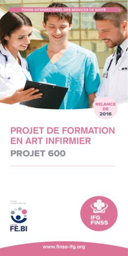 projet de formation en art infirmier projet 600