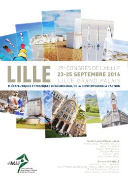 Programme du congrès 2016 Télécharger le programme