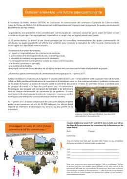 votre préférence - Communauté de communes Val de Boutonne
