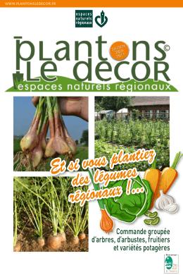 ZOOM SUR… Et si vous plantiez des légumes régionaux