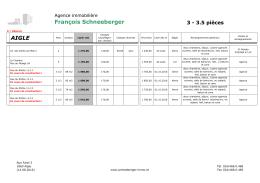3 pièces - schneeberger