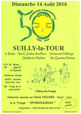 kermesse - Commune de Suilly-la-Tour