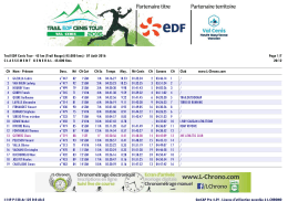 Trail EDF Cenis Tour - 45 km (Trail Rouge) (45.000 kms)