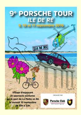 9éme édition du Porsche tour Ile de Ré