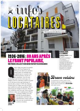 Lettre de Juillet 2016 - Plaine Commune Habitat