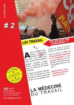2016 07 25 Tract 2 série Loi travail CGT RATP couleur
