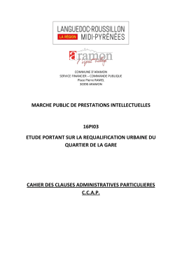 marche public de prestations intellectuelles 16pi03 etude
