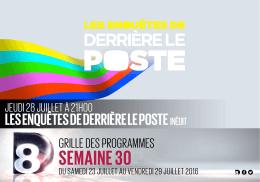SEMAINE 30