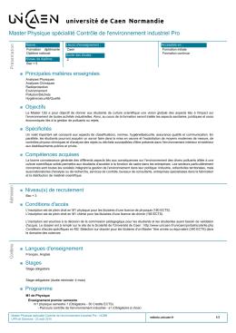 La fiche formation au format PDF