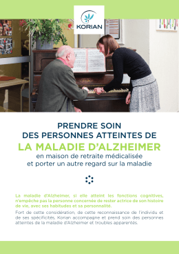 la maladie d`alzheimer