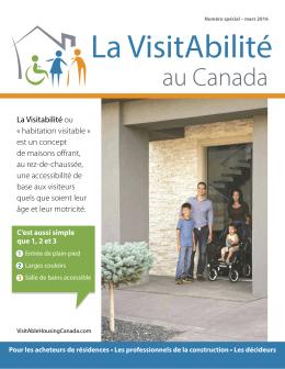 au Canada - VisitAble Housing Canada