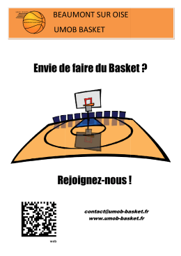 Envie de faire du Basket - beaumont / oise umob basket