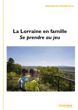 La Lorraine en famille 2016