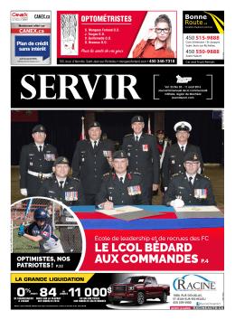 11 août 2016 - Journal Servir
