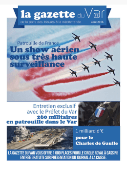 la gazette du Var #8