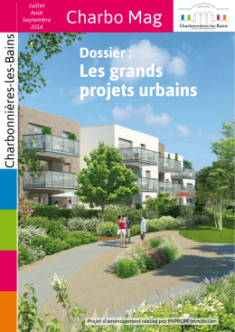 Charbo Mag Les grands projets urbains
