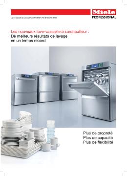 Les nouveaux lave-vaisselle à surchauffeur : De meilleurs