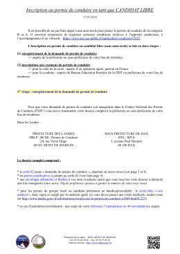 Dossier_complet_CANDIDAT_LIBRE - Services de l`Etat dans les