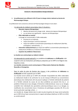 11_annexe xi-recommandation dosage sofosbuvir