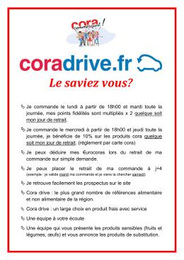 fidélités - coradrive.fr