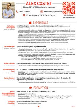 Téléchargez mon CV en