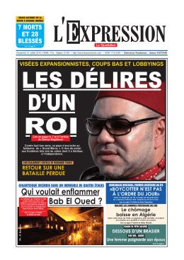 Qui voulait enflammer Bab El Oued ?