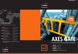 AXES GATE veiligheidspoorten
