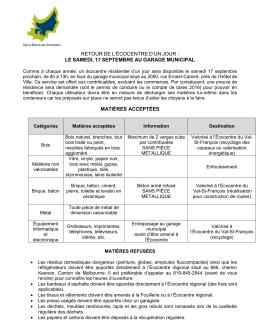 En savoir plus - Municipalité de Saint-Denis-De