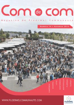 Agenda - Communauté de communes de Ploërmel