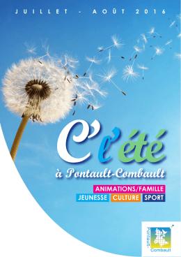 la plaquette de l`été - Site officiel de la Ville de Pontault