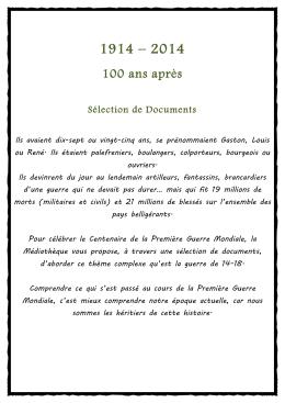100 ans après