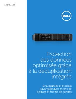 Protection des données optimisée grâce à la déduplication