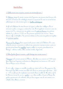 P1 Avant la France - Ecole élémentaire Victor Chapelliere Rimou