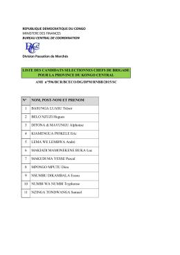 télécharger la liste des candidats retenus pour l`AMI n°596