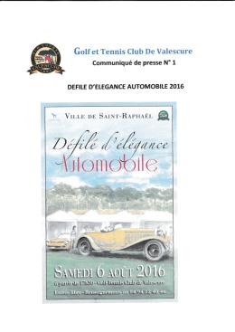 Gotf et Tennis CIub De Valescure - Ville de Saint